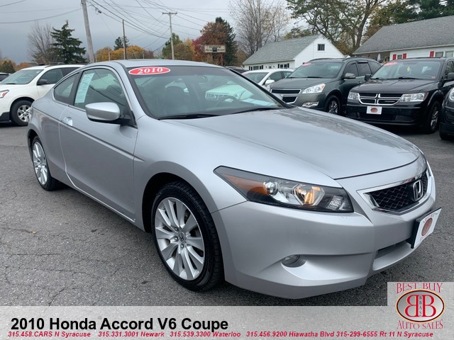 2010 Honda Accord V-6 Coupe