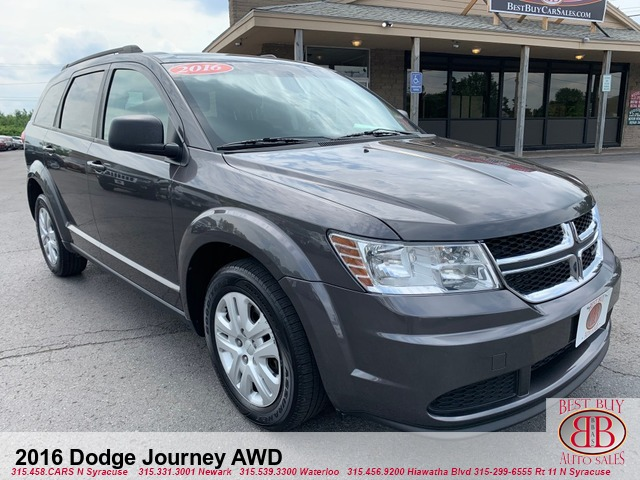 2016 Dodge Journey AWD