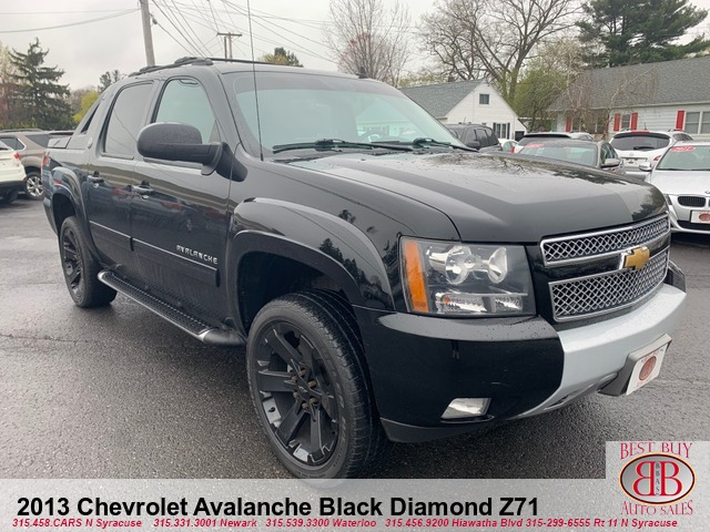 2013 Chevrolet Avalanche Black Diamond Z71