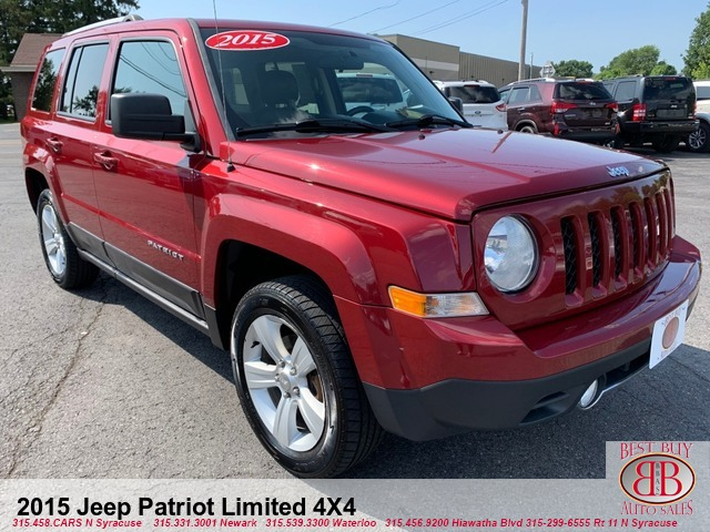 2015 Jeep Patriot Limited 4X4