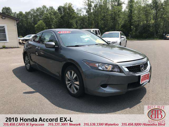 2010 Honda Accord EX-L Coupe