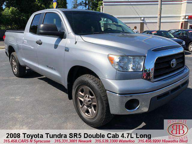 2008 Toyota Tundra SR5 Double Cab 4.7L Long Bed