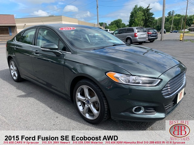 2015 Ford Fusion SE Ecoboost AWD