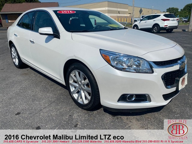 2016 Chevrolet Malibu Limited LTZ eco