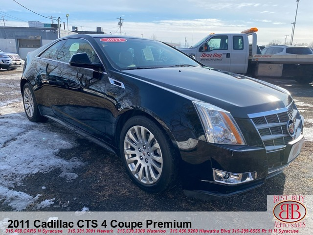 2011 Cadillac CTS 4 Premium  Coupe with Navigation