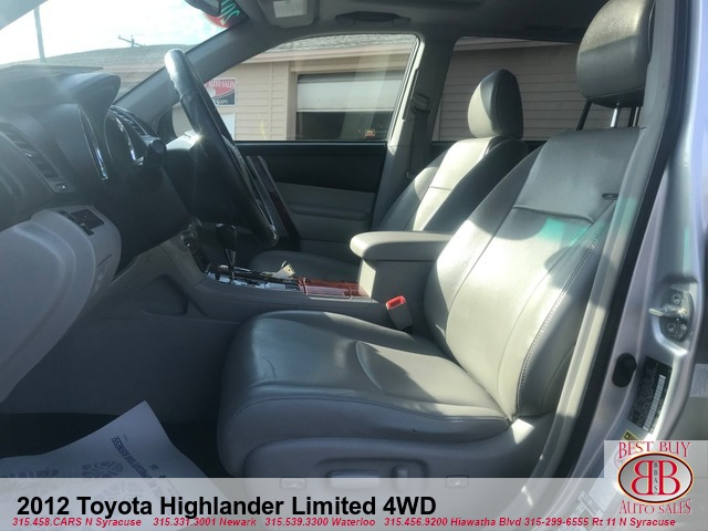 2012 Toyota Highlander Limited 4WD