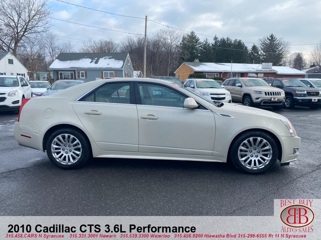 2010 Cadillac CTS 3.6L Performance