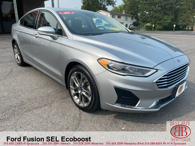 2020 Ford Fusion SEL Ecoboost