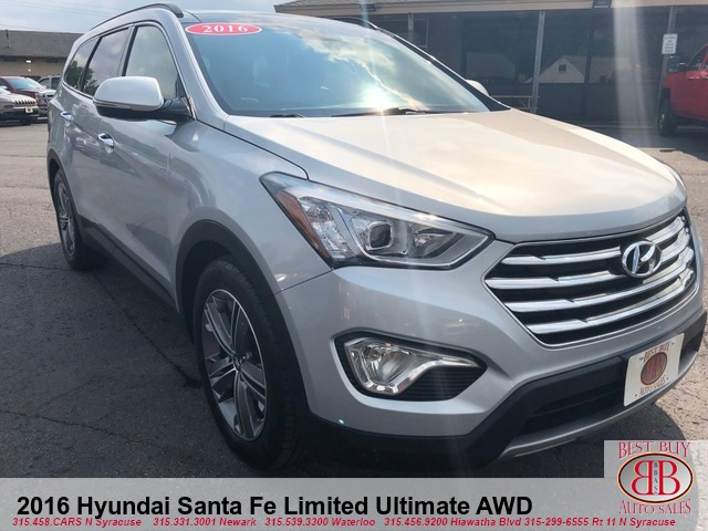 2016 Hyundai Santa Fe Limited AWD w/Ultimate Package