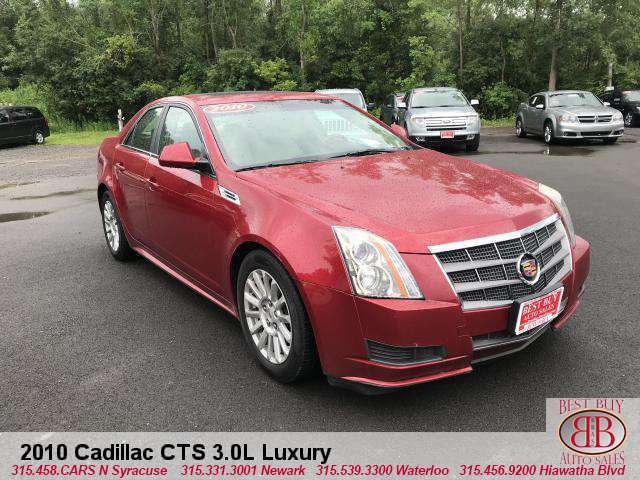 2010 Cadillac CTS 4, 3.0L Luxury