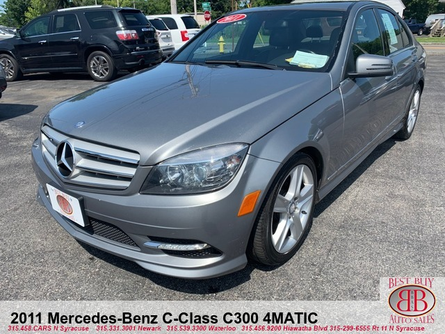 2011 Mercedes-Benz C-Class C300 4MATIC Best Buy Auto Sales