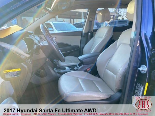 2017 Hyundai Santa Fe Ultimate AWD