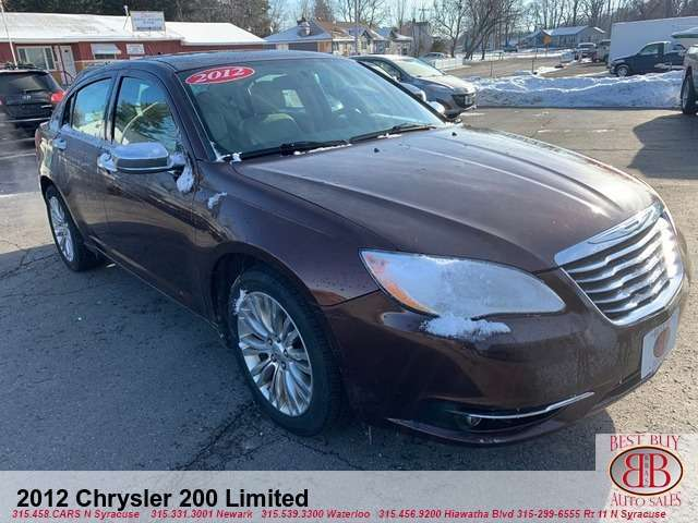 2012 Chrysler 200 Limited
