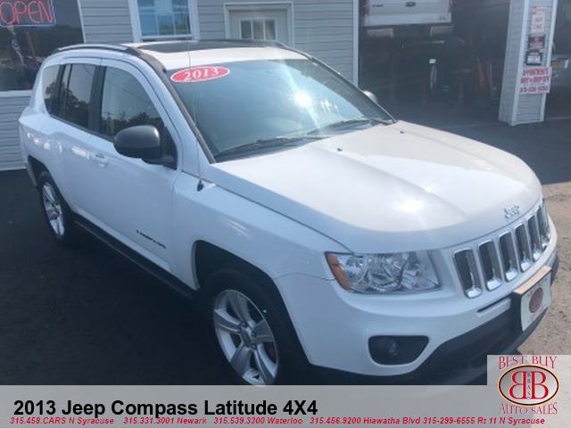 2013 Jeep Compass Latitude 4X4