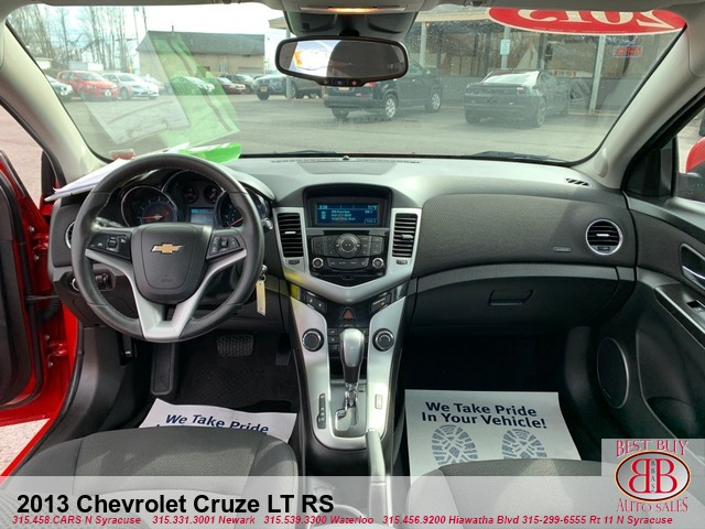 2013 Chevrolet Cruze LT RS Best Buy Auto Sales 7365 Church