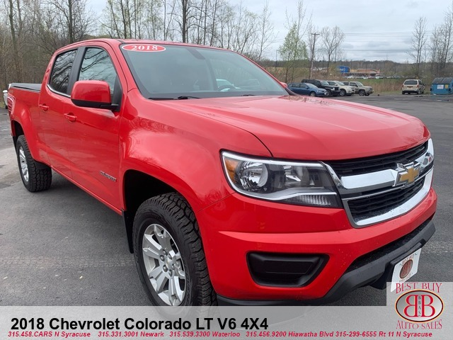 2018 Chevrolet Colorado LT V6 4WD