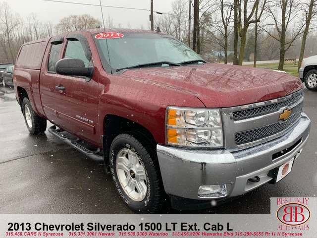 2013 Chevrolet Silverado 1500 LT Z71 Ext. Cab Long Box