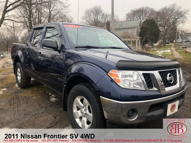 2011 Nissan Frontier SV 4WD