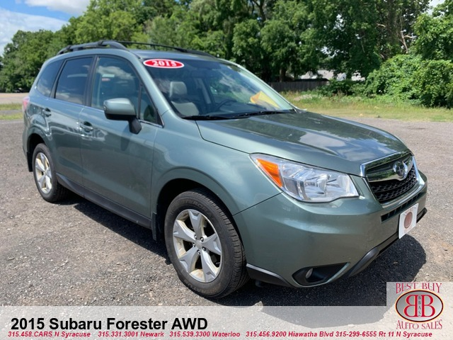 2015 Subaru Forester 2.5i Limited AWD