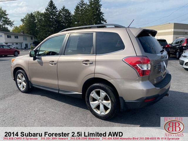 2014 Subaru Forester 2.5i Limited AWD