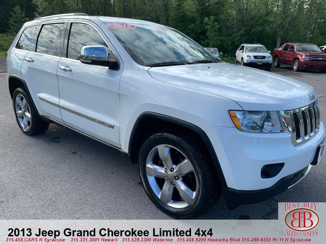 2013 Jeep Grand Cherokee Limited 4X4