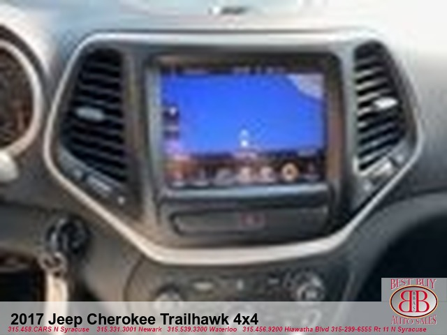 2017 Jeep Cherokee Trailhawk 4X4