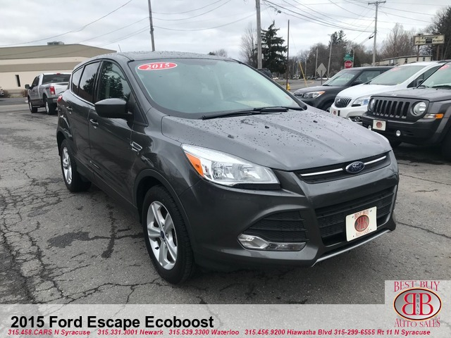 2015 Ford Escape Ecoboost