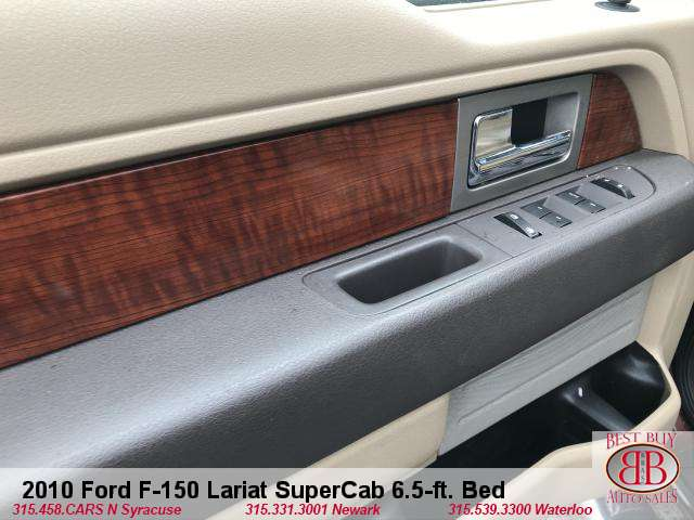 2010 Ford F-150 Lariat SuperCab 6.5-ft. Bed