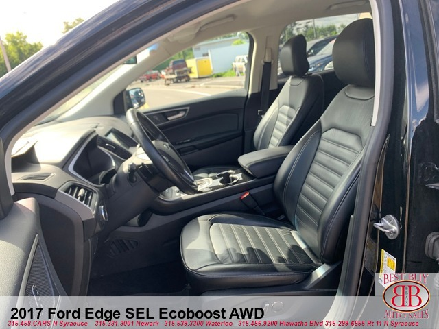 2017 Ford Edge SEL Ecoboost AWD