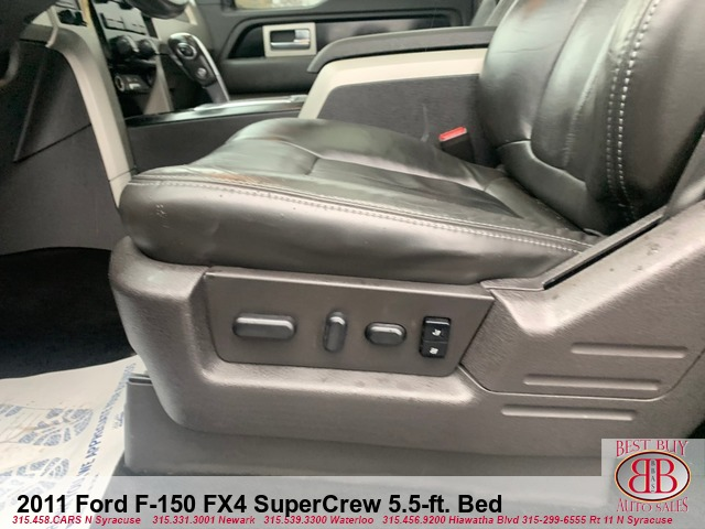 2011 Ford F-150 FX4 SuperCrew 5.5-ft. Bed