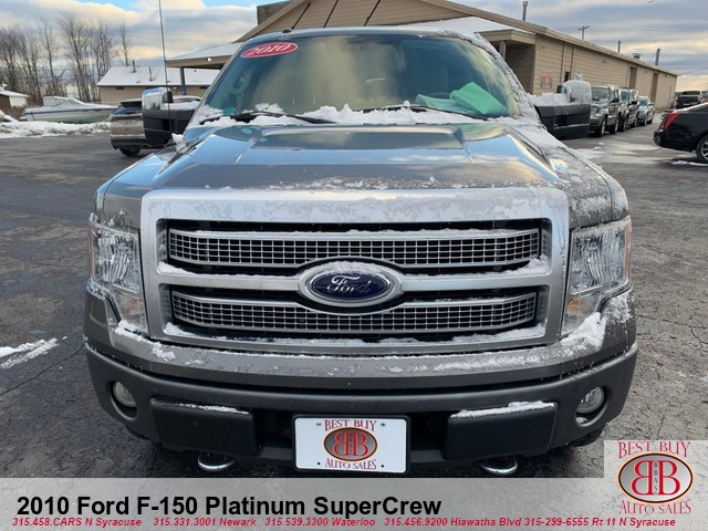 2010 Ford F-150 Platinum SuperCrew 5.5-ft. Bed