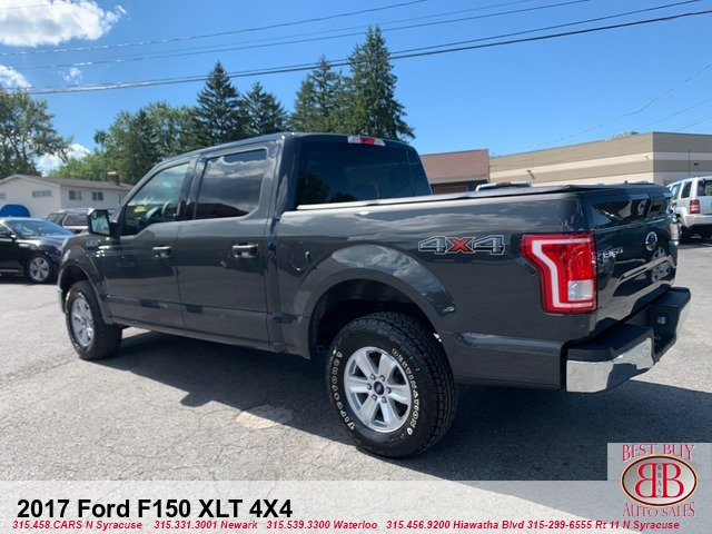 2017 Ford F-150 XLT SuperCrew 5.5-ft. Bed 4X4