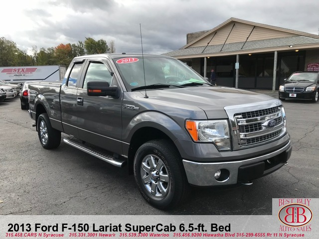 2013 Ford F-150 XLT SuperCab 6.5-ft. Bed