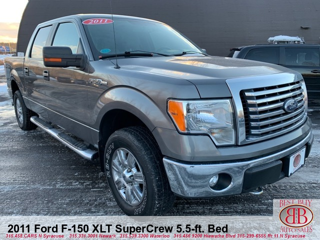 2011 Ford F-150 XLT SuperCrew 5.5-ft. Bed