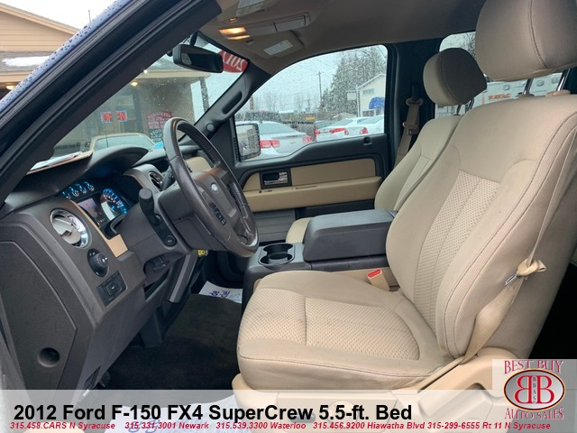 2012 Ford F-150 XLT SuperCrew 5.5-ft. Bed