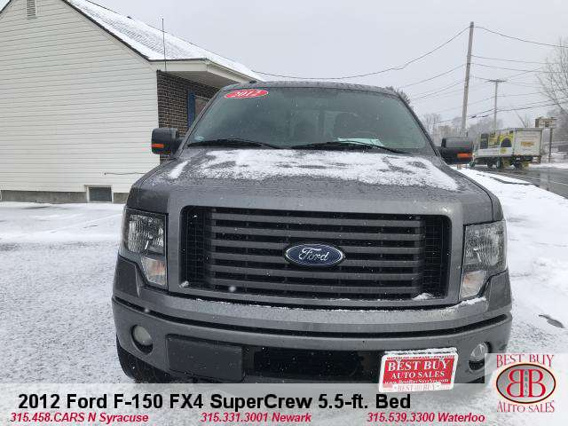 2012 Ford F-150 FX4 SuperCrew 5.5-ft. Bed