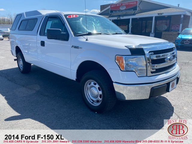 2014 Ford F-150 XL 8-ft. Bed w/ LEER Cap