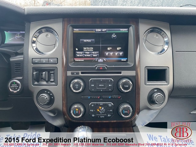 2015 Ford Expedition Platinum Ecoboost 4WD