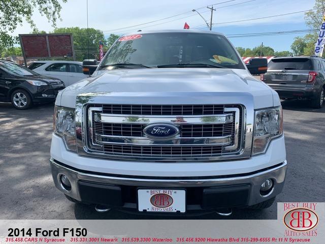 2014 Ford F-150 XLT SuperCab 6.5-ft. Bed