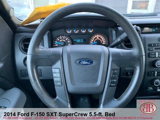 2014 Ford F-150 SXT SuperCrew 5.5-ft. Bed